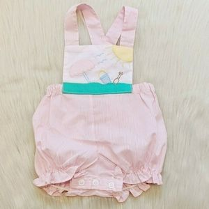 Vintage Color kids Baby Romper.